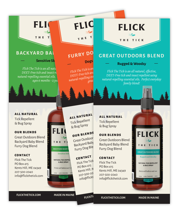 Flick The Tick Repellent And All Natural Bug Spray Made